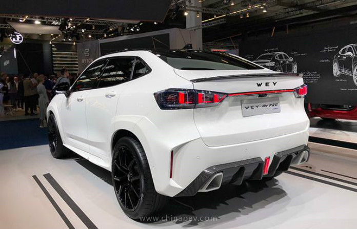 GWM Debuted WEY-GT PRO At 2019 Frankfurt Motor Show, Based on WEY VV7 GT PHEV
