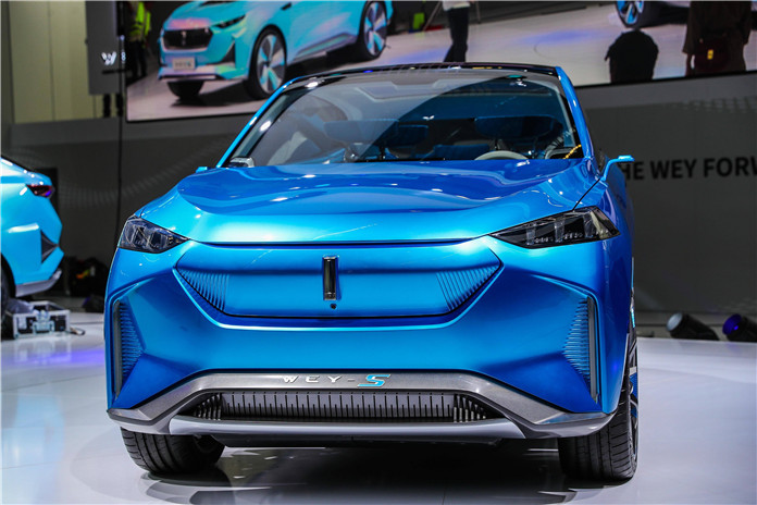 Great Wall Motors Luxury Brand WEY Debuted WEY-S Concept Car At 2019 Frankfurt Motor Show