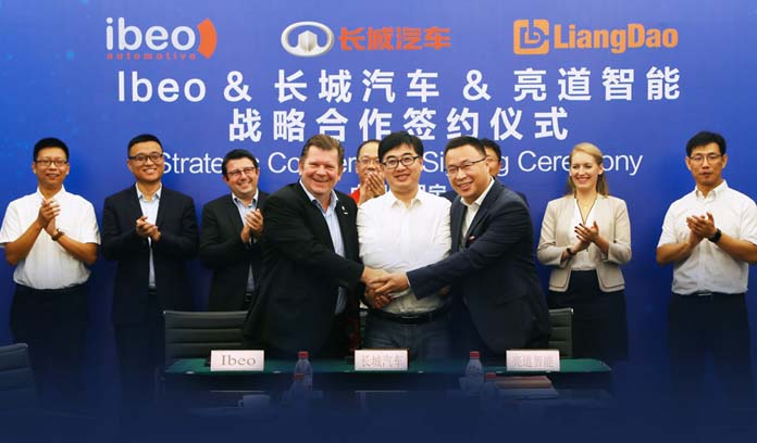 GWM, Liangdao & Ibeo Signed Strategic Cooperation Agreement on L3/L4 Automatic Driving Mass Production R&D
