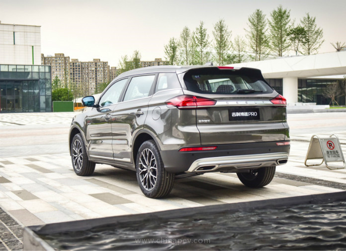 Geely Boyue Pro Sale Kicked Off in Chinese Market