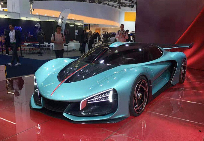 China's Bugatti? The Chinese National Car Brand Hongqi Debuted Hongqi S9, A Concept Supercar At Frankfurt