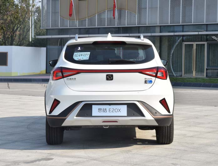 JAC-Volkswagen Finally Launch SOL E20X, The 1st EV from the Joint Venture
