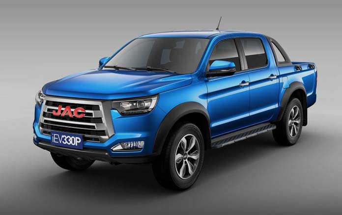 JAC T6/Frison & T8 Pickup Electric Version To Enter Brazilian Market in 2020