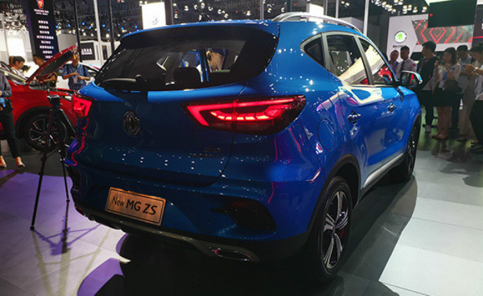 MG ZS Received A Facelift At 2019 Chengdu Motor Show