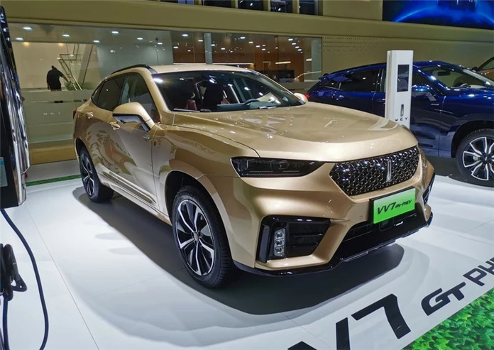 Great Wall Motors Debuted the Hybrid Version of WEY VV7 GT at 2019 Chengdu Motor Show