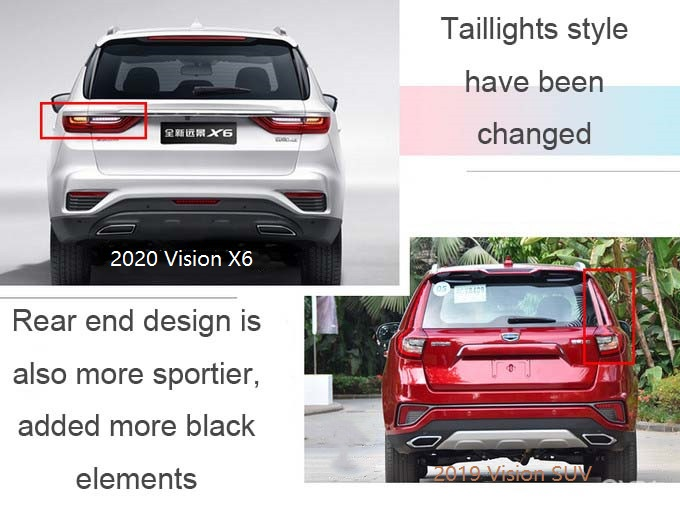 2020 Geely Vision SUV (Vision X6) Will be Soon in Chinese Market