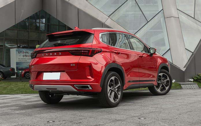 Chery's High-end EXEED LX Launches in Chinese Market, Price Starting at 125,900 yuan