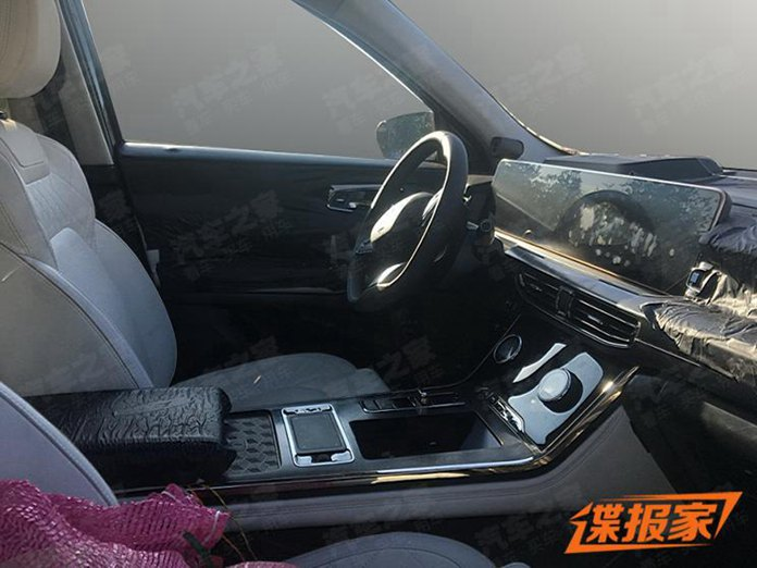 Spy Photos: Interior of EXEED VX, Chery's High-End Large SUV