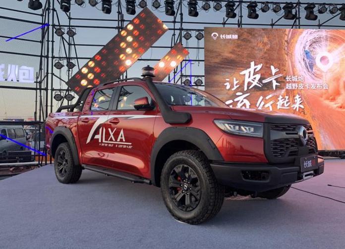 Real Shot of Great Wall Motors P-Series (Pao) Off-Road Pickup