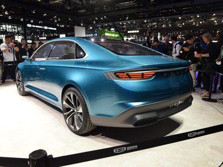 Spy Photos: Geely Preface Concept car Production Version