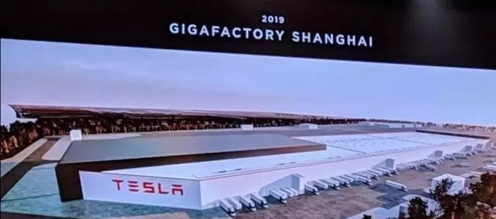 China version Tesla Model 3 White Body is offline, To Compete with NIO, Xpeng Motors
