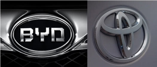 BYD To Form Joint Venture with Toyota in 2020,  Each Contribute 50%