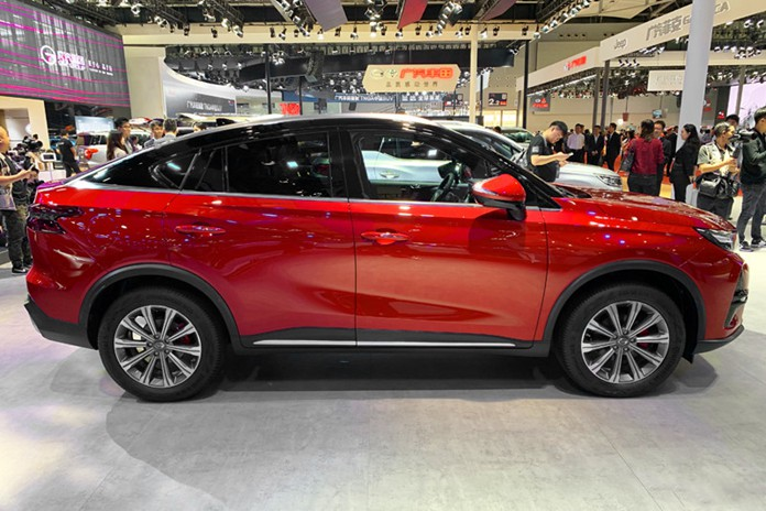 GAC Trumpchi GS4 COUPE Debuted at 2019 Guangzhou Auto Show