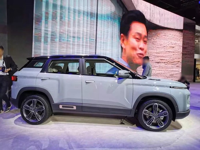 Geely icon Debuted on 2019 Guangzhou Auto Show, Continues the style of Geely CONCEPT ICON