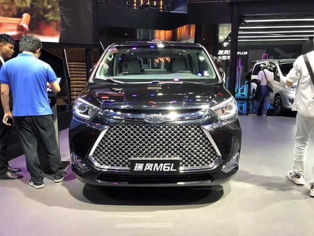 JAC Ruifeng (Refine) M6L Debuted on 2019 Guangzhou Auto Show