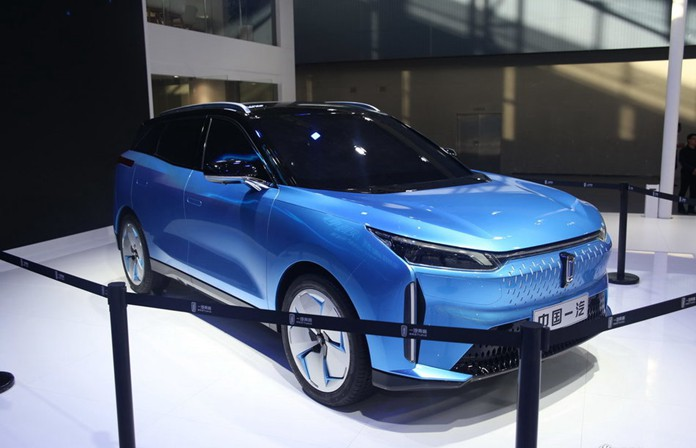 FAW Bestune's First EV: Bestune C105 Debuted at 2019 Guangzhou Auto Show