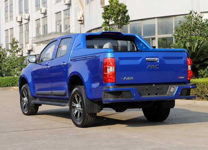 FAW Linghe (FAC) Luanched Leishen Pickup in Chinese Market