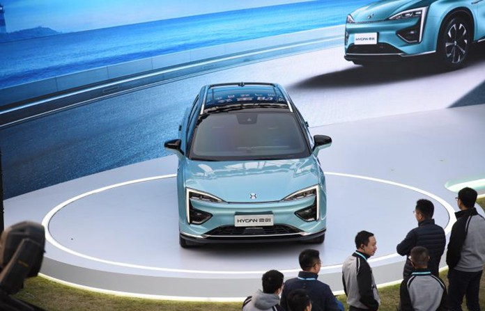 Named HYCAN 007, GAC-NIO's First Pure Electric SUV Started Pre-Sale in Chinese Market, Range of 399miles