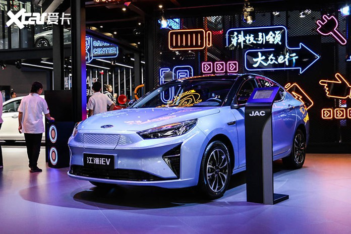 JAC Debuted Jiayue A5 Pure Electric Version At 2019 Guangzhou Auto Show
