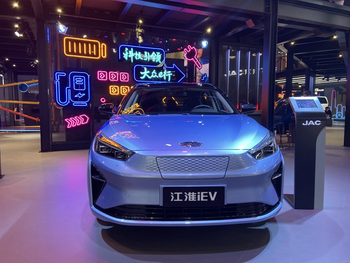 JAC Jiayue A5 EV Renamed iC5 and Started Pre-Sale in Chinese market from 155,000 yuan