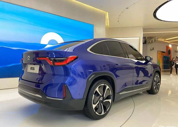 NIO Debuts New EV: NIO EC6 Is a Coupe SUV Based on ES6