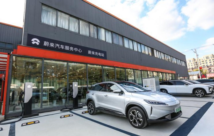 Xpeng Motors and NIO Power Reach Charging Cooperation