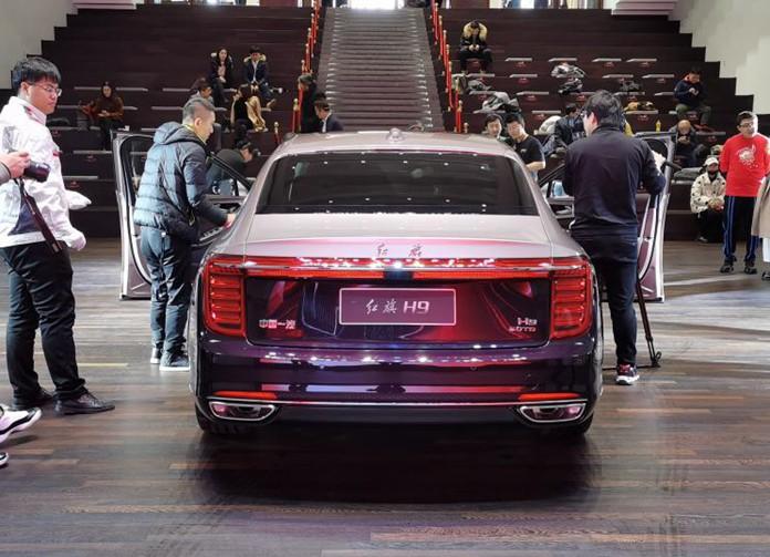 All New Hongqi H9: FAW Hongqi's Flagship Sedan Debuted in China
