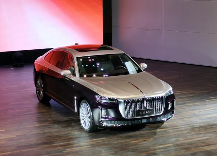 All New Hongqi H9: FAW Hongqi's Flagship Sedan Debuted in China