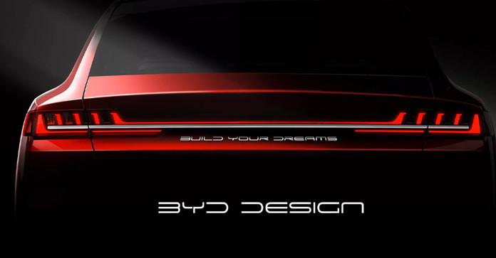 BYD Debuted Offical Images of BYD HAN EV/DM