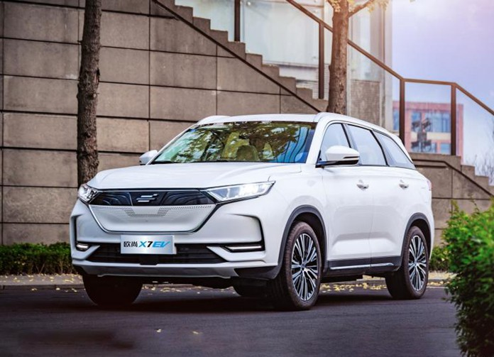 Changan Oshan X7 EV Made Its Debut in China