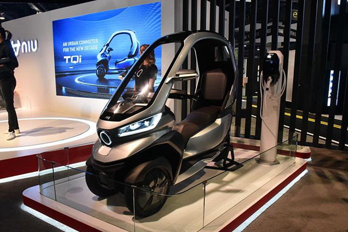 CES 2020: Niu Technologies Releases Electric Tricycle TQi