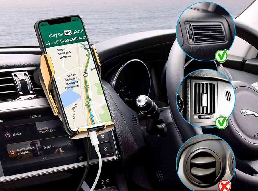 2020 Updated Universal Cell Phone Holder for Car