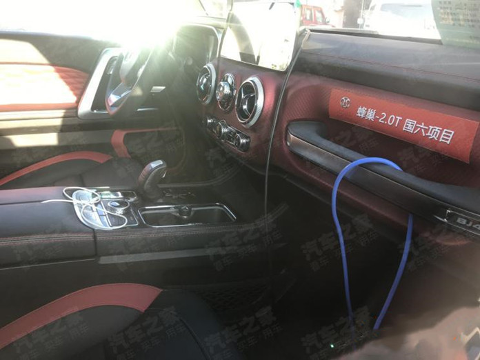 Spy photos Reveal Beijing BJ40 Three-Door To be Powered by 2.0T engine from SVOLT