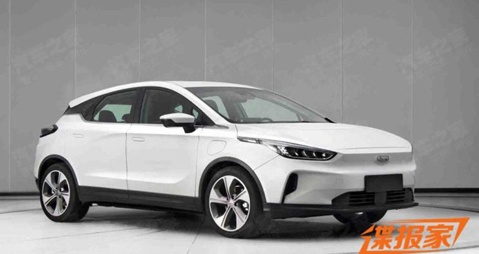 Geely's New EV GE13 To Named Geometry C, Or the First Unmanned Pure Electric SUV