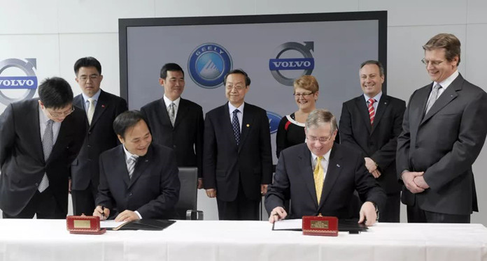 Geely and Volvo to Form Global Group