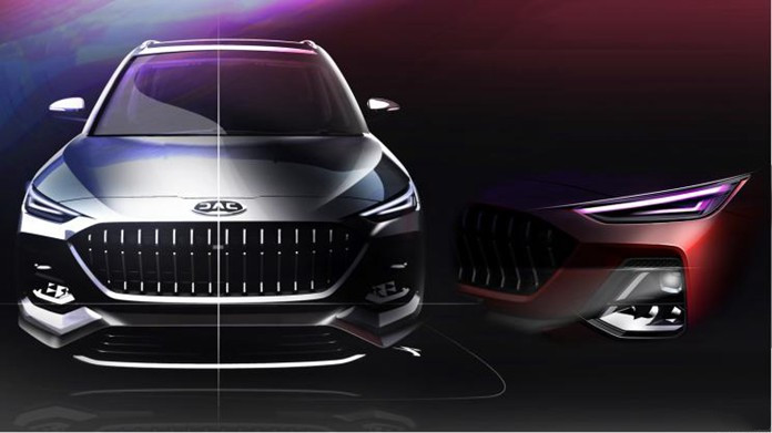 Teaser Images Spotted for JAC's New SUV S432, A 6-Seater Family Car