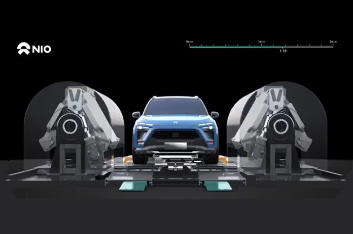 Improves Efficiency Greatly, New NIO Power Station Spotted