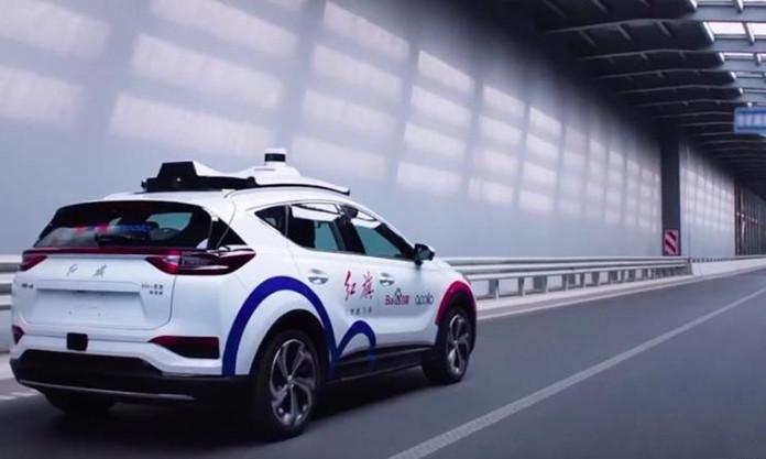 Baidu starts construction of new autonomous driving test area in Chongqing