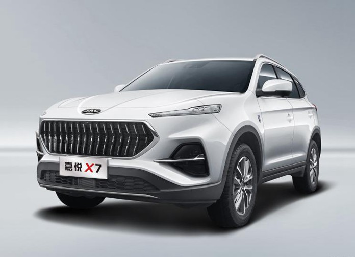 JAC's all-new SUV: Jiayue X7 debuted in official images, to launch in 2nd quarter 2020