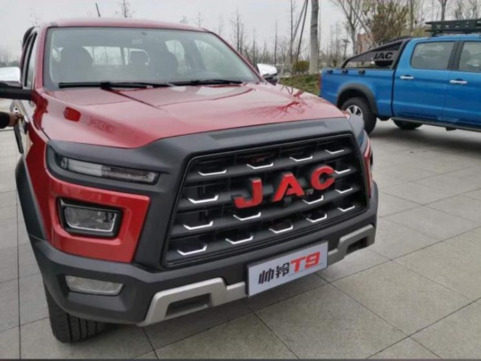 JAC's New Pickup Exposed Or Named T9
