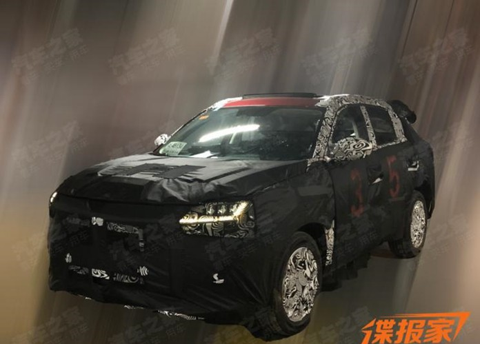 Spy photos of Qoros' new SUV, or named Qoros 6/7