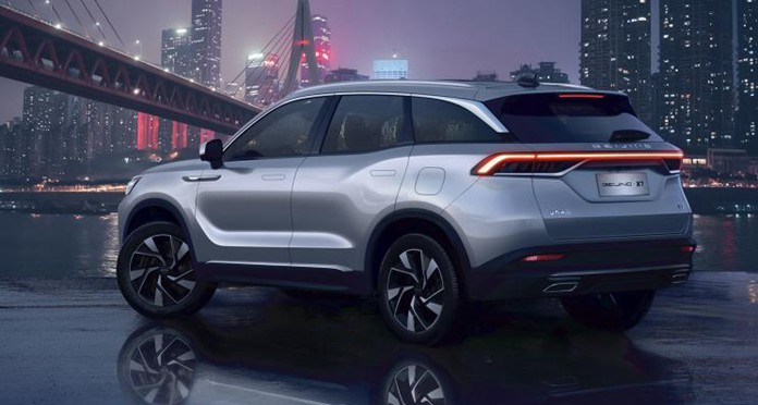 BAIC Debuted BEIJING X7, an All-New Mid-Sized SUV Based on BMFA Platform