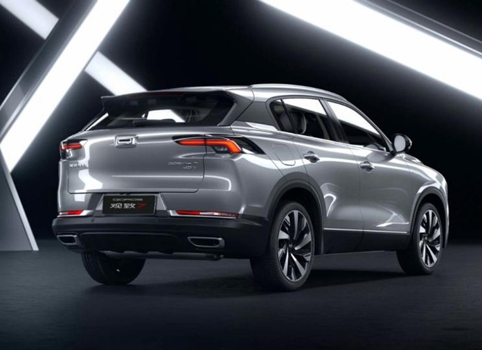 Named Qoros 7, Qoros Auto Released the Official Images