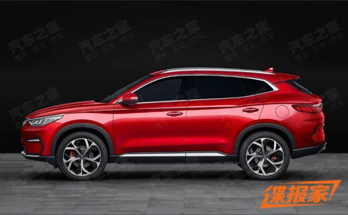 BYD leaks new EV, or name SONG PLUS Sitting between SONG PRO and TANG