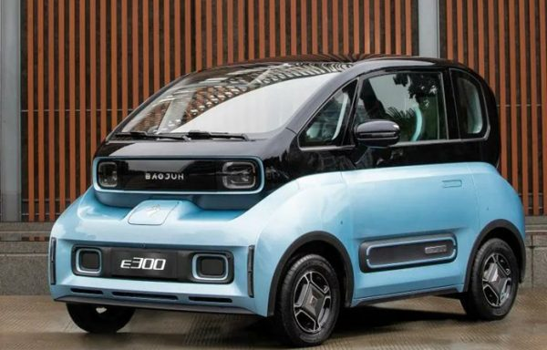 Baojun E300 is an all-new mini EV after E100 & E200