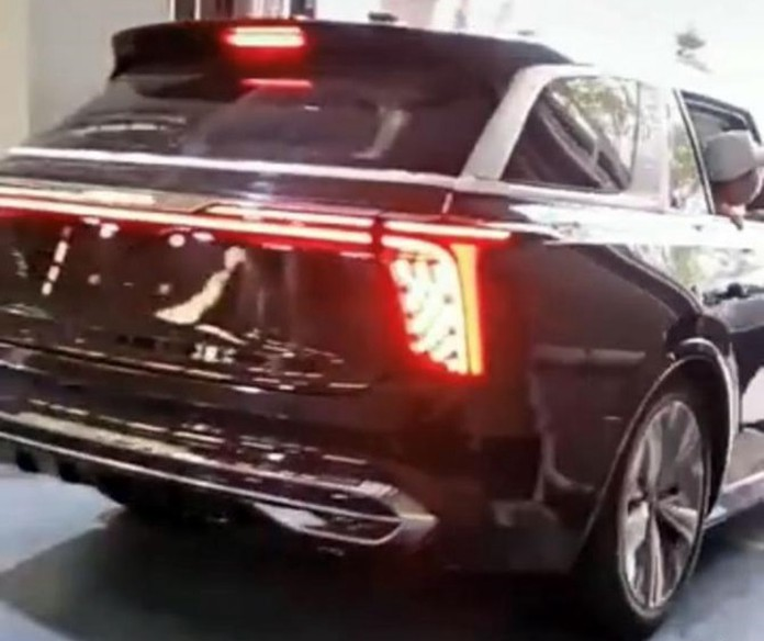 Teaser Images show Hongqi E115 is right a Cullinan, range or be 600km