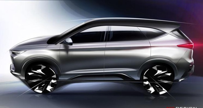 JAC's new SUV design release, or name Jiayue X8