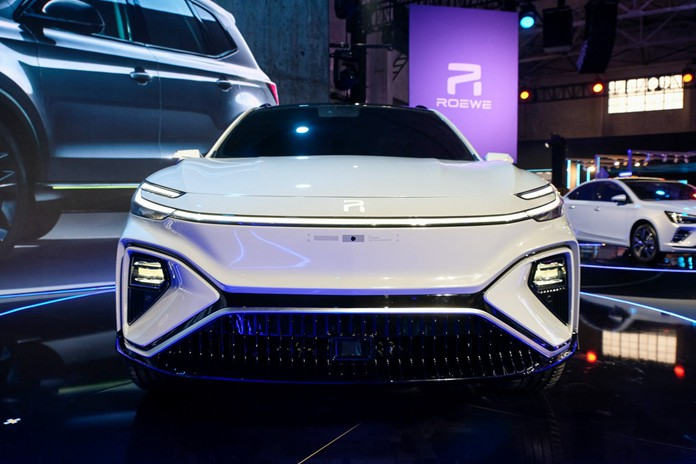 Roewe Debuted its first 5G EV MARVEL-R