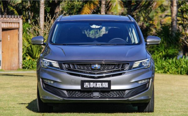 2019 Geely Jiaji Technical Specs