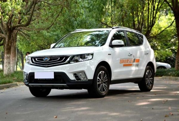 2016 Geely Vision X6 (Emgrand X7) Technical Specs